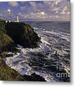 Northhead Ilwaco Lighthouse Metal Print