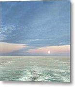 Norwegian Pearl Metal Print by John Poon