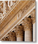Ny Stock Exchange Metal Print