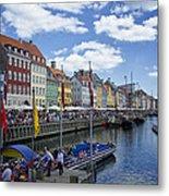 Nyhavn - Copenhagen Denmark Metal Print