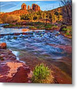 Oak Creek Metal Print