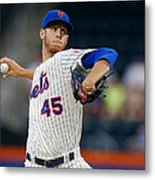 Oakland Athletics V New York Mets Metal Print