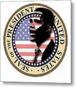 Obama-1 Metal Print
