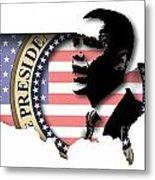 Obama-2 Metal Print