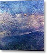 Ocean As A Painting Metal Print