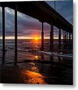 Ocean Beach Pier 2 Metal Print