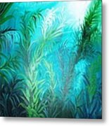 Ocean Plants Metal Print