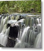 Odom Creek Waterfall Georgia Metal Print