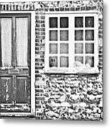 Old Cottage Metal Print