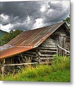 Old Country Barn Metal Print