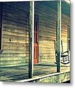Old Country Front Porch Metal Print