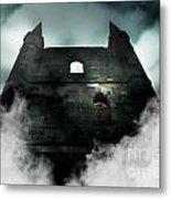 Old Haunted Castle Metal Print