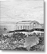 Old Lifeboat Station Tenby Metal Print
