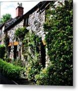Old Terrace Houses - Peak District - England Metal Print