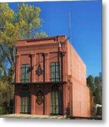 Oldest Masonic Lodge In California Metal Print