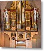 Oldest Organ Metal Print