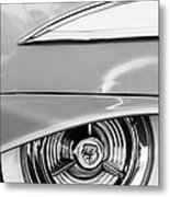 Oldsmobile 98 Wheel Emblem Metal Print