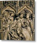 Oller, Pere 15th Century. Altarpiece Metal Print