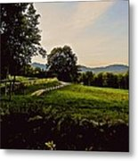 From Cleveland Hill Rd. At Dusk Metal Print