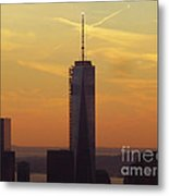 One Wtc From Top Of The Rock Metal Print