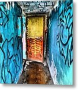 Open Door Metal Print