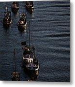 Oporto By River Metal Print