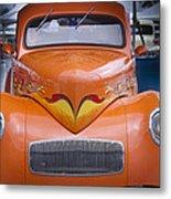 Orange  Metal Print