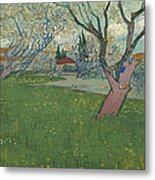 Orchards In Blossom Metal Print