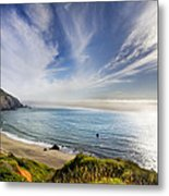 Oregon Coastline Metal Print