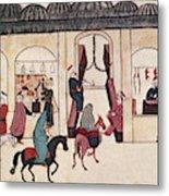 Ottoman Bazaar Metal Print