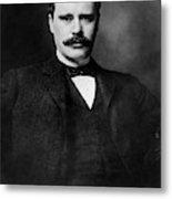 Owen Wister (1860-1938) Metal Print