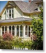 Oysterville House 6 Metal Print