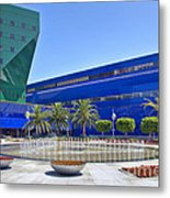 Pacific Design Center West Hollywood Ca Blue Whale Metal Print