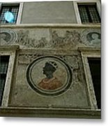 Painted Wall Metal Print