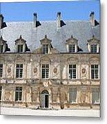 Palace Bussy Rabutin - Burgundy Metal Print