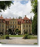 Palace Rammenau - Germany Metal Print