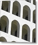 Palazzo Della Civilta' Romana Metal Print