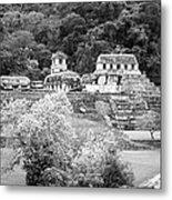 Palenque City Metal Print