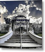 Palm House Metal Print