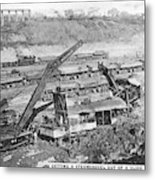 Panama Canal, 1910s Metal Print