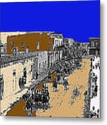 Pancho Villa Captures Juarez Chihuahua May 8 1911 Color Added 2012 Metal Print