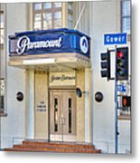 Paramount Movie Studio Hollywood Ca Metal Print