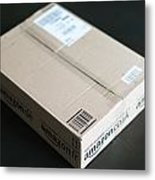 Parcel Waiting At Home Metal Print