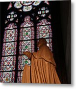 Paris France - Notre Dame De Paris - 011312 Metal Print by DC Photographer