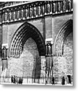 Paris Notre Dame, 1918 Metal Print