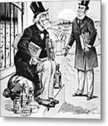 Patent Medicine Cartoon Metal Print