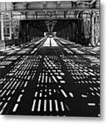 Patterns Of Light Metal Print