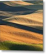 Patterns Of The Palouse Metal Print by Latah Trail Foundation