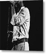 Paul Singing In Spokane 1977 Metal Print