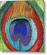 Peacock Feather  Metal Print by Prashant Shah